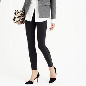 J. CREW Leather Tuxedo Pixie Pants